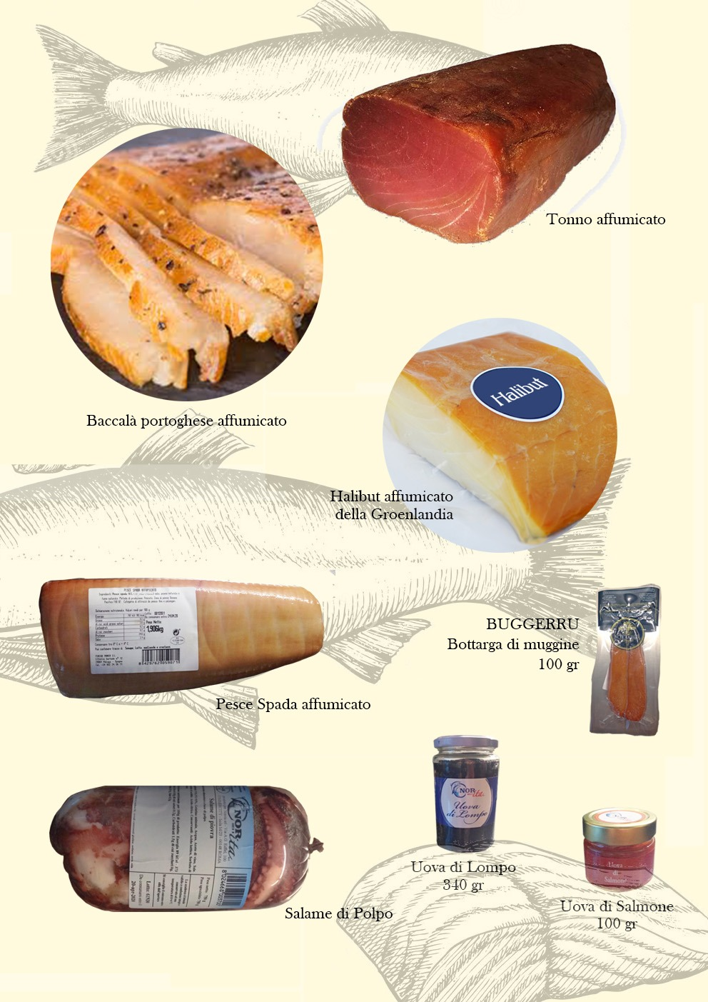 La Salmoneria, i nostri prodotti a casa tua!